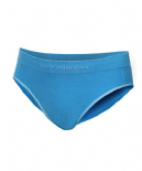 Brubeck Comfort Cotton - Girls Hipster Briefs - Seamfree - Azure Blue - HI10140 - RRP £6 our price